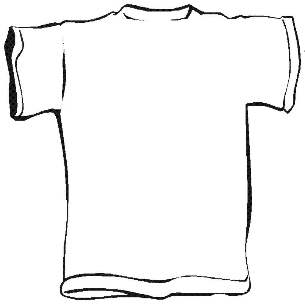 T Shirt Back Template