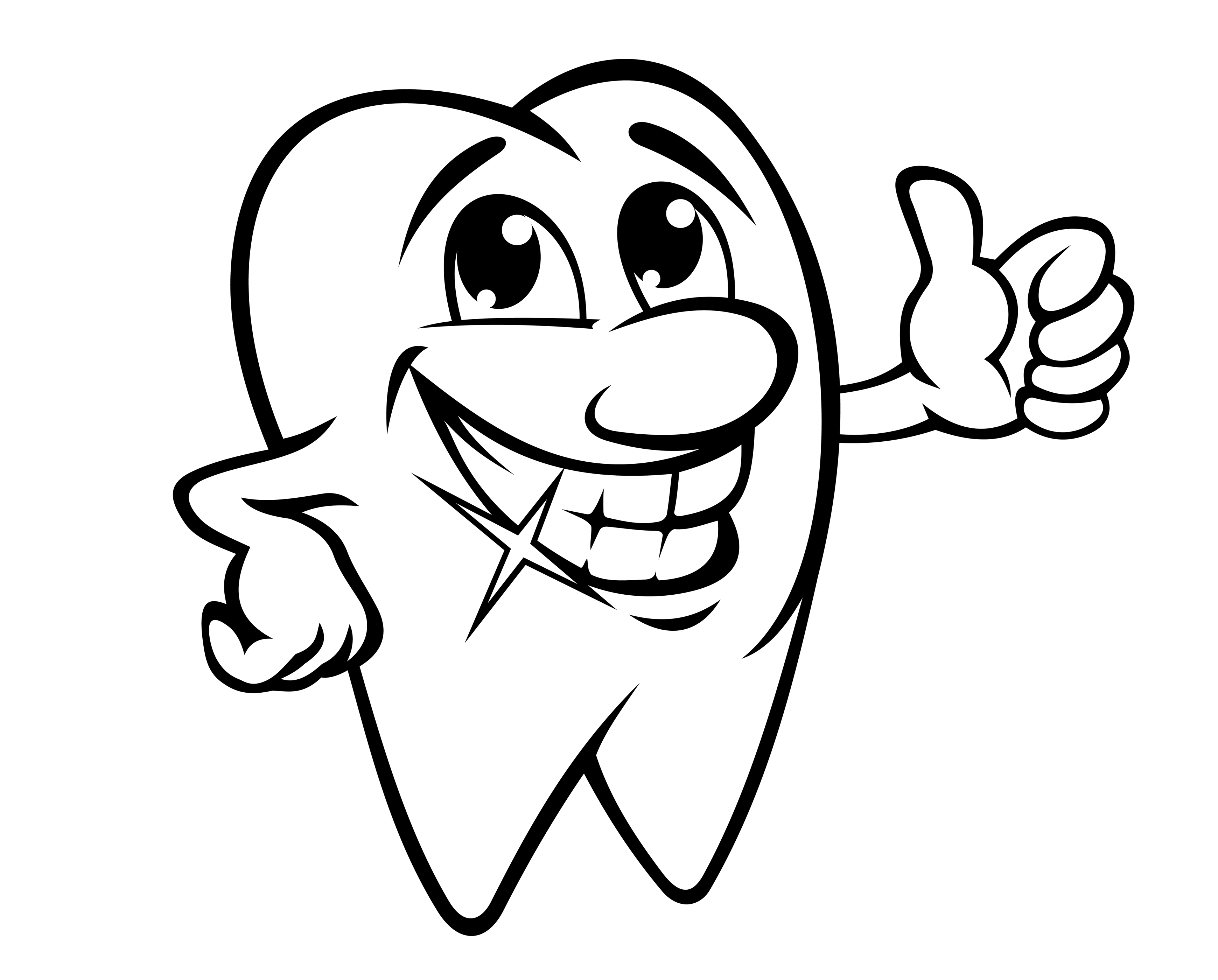 Cartoon Pictures Of Smiles With Teeth