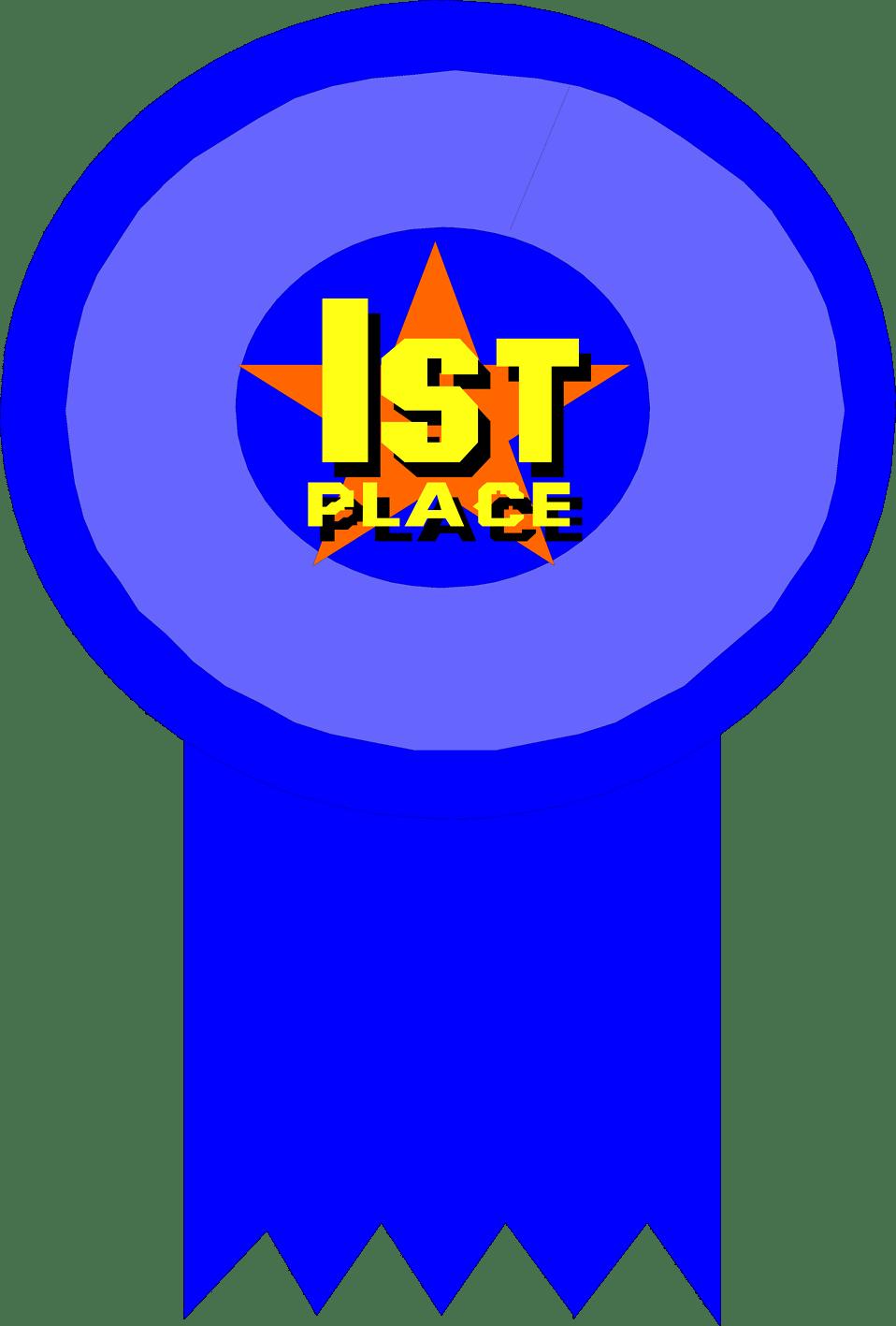 1st Place Ribbon Clip Art