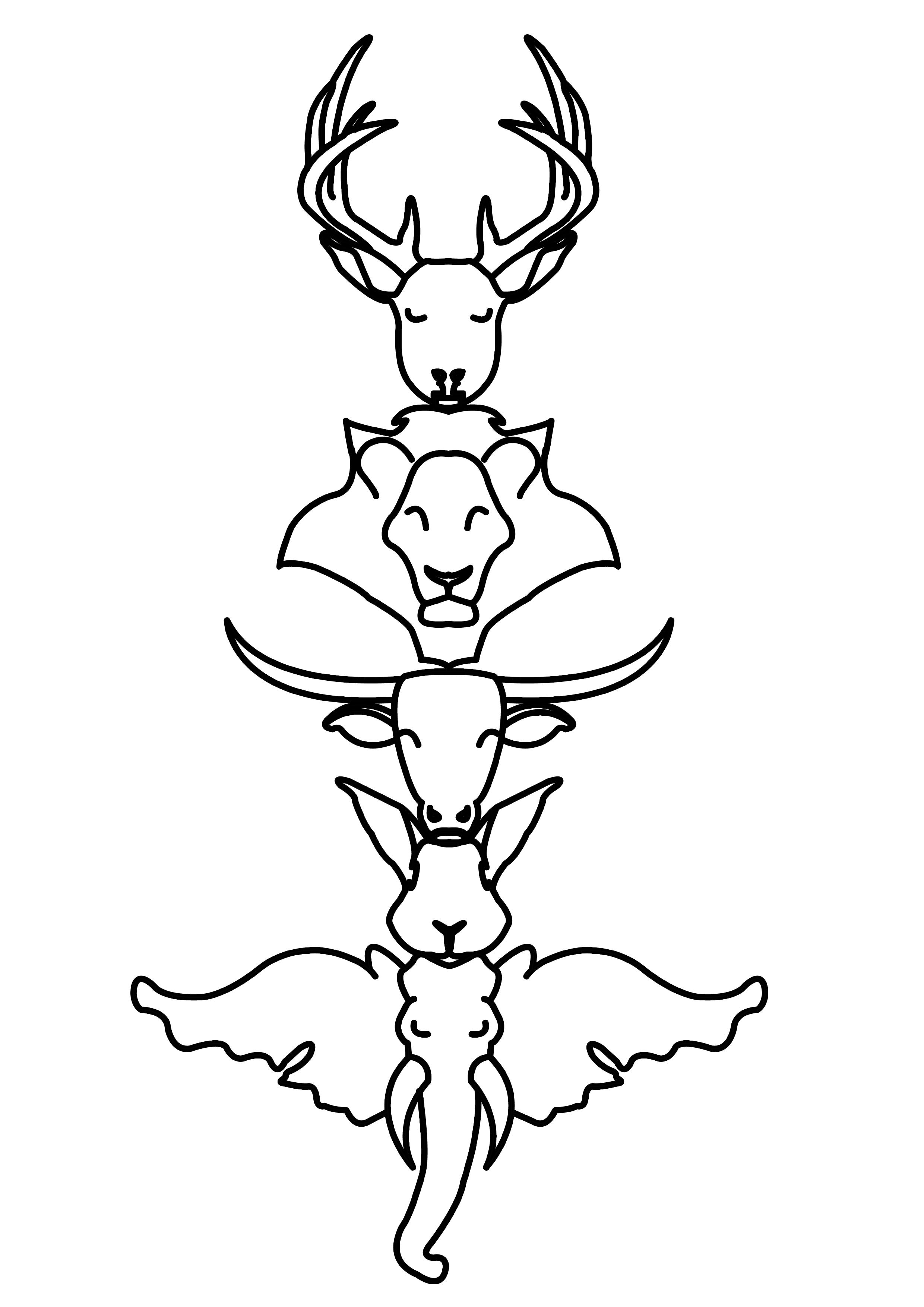 Totem Pole Designs