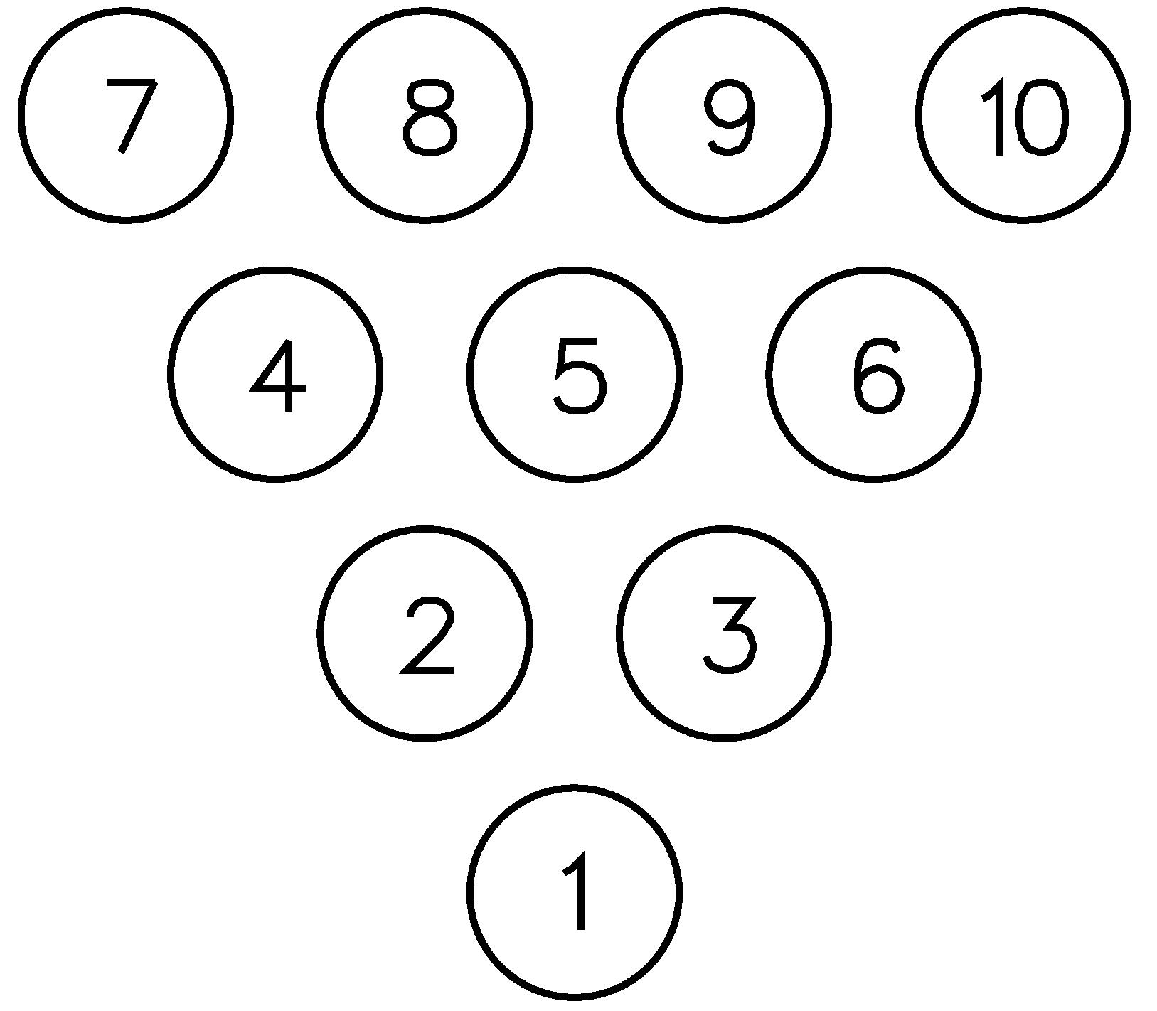 Bowling Pin Setup