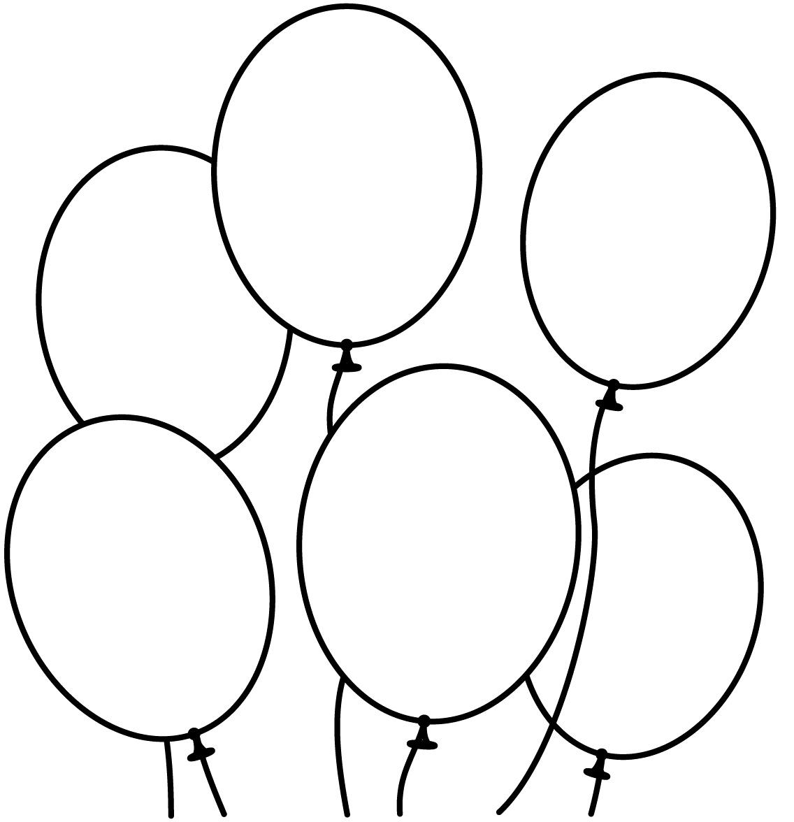 Free Printable Balloons