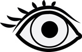 Images Of Eyes Black And White   ClipArt Best