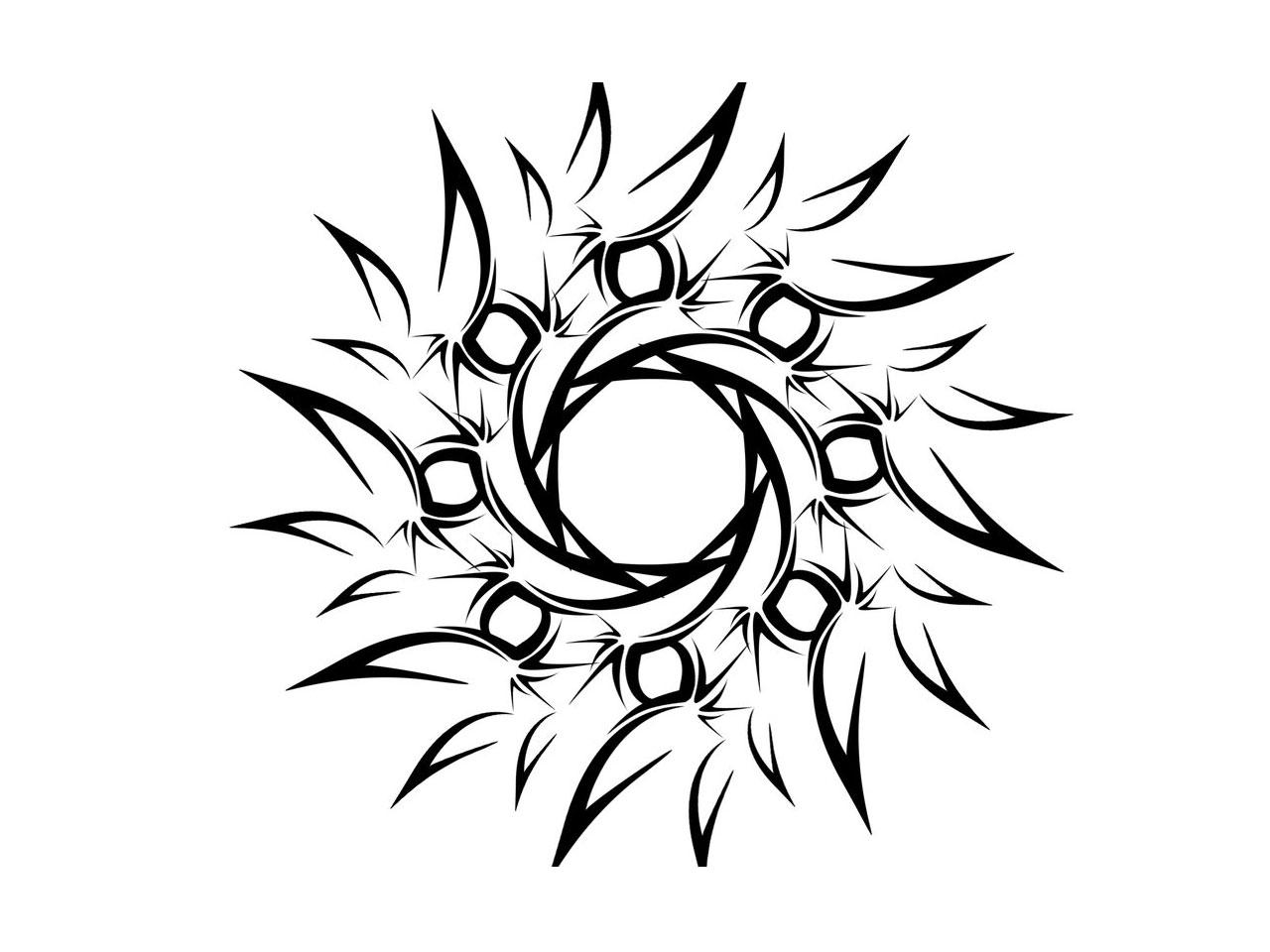Simple Line Art Drawings