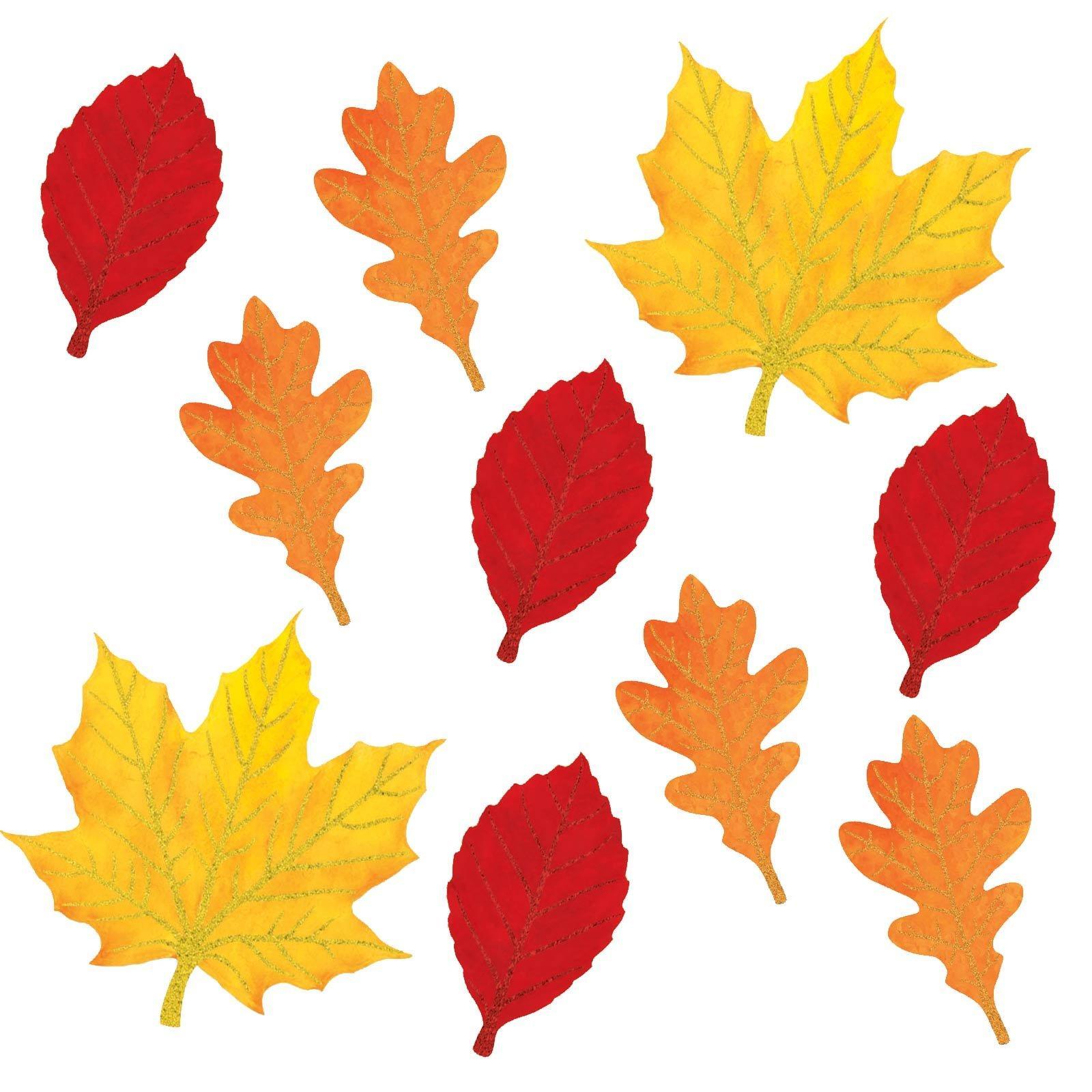 Autumn Leaf Cutouts Templates