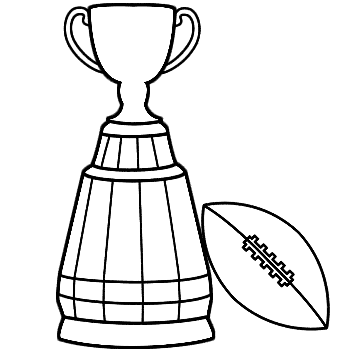 Football Trophy Template