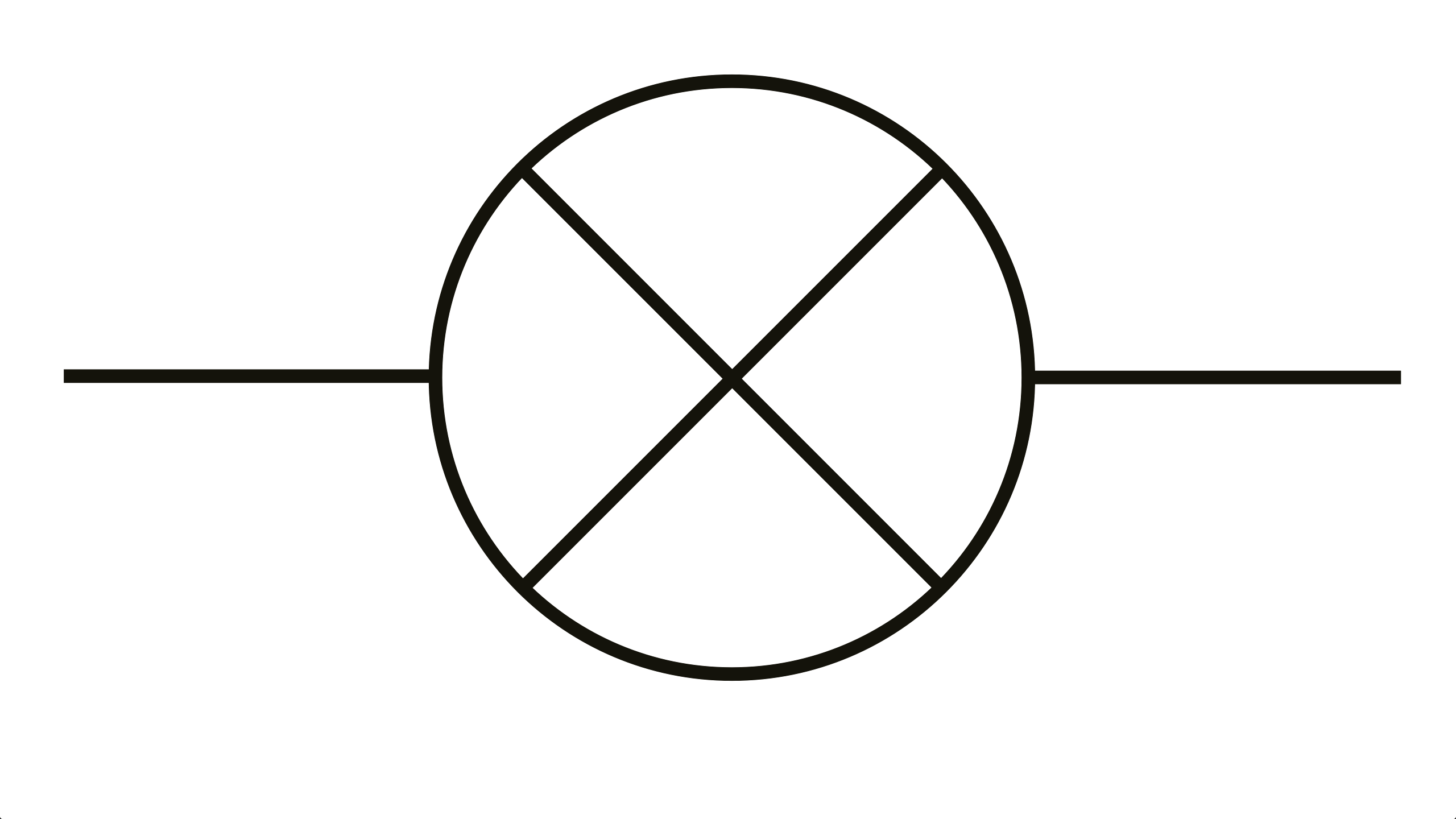 Component Symbol For A Led