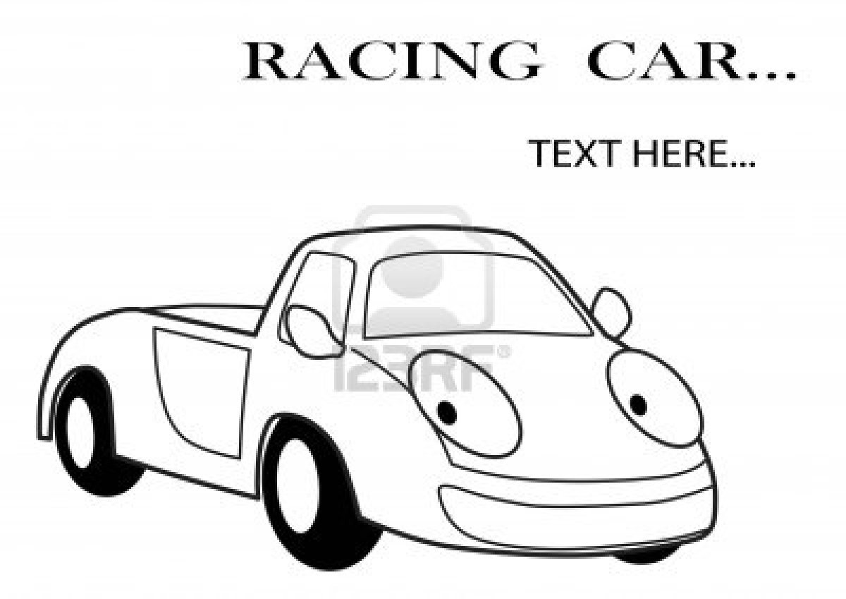 Cartoon Race Car Images