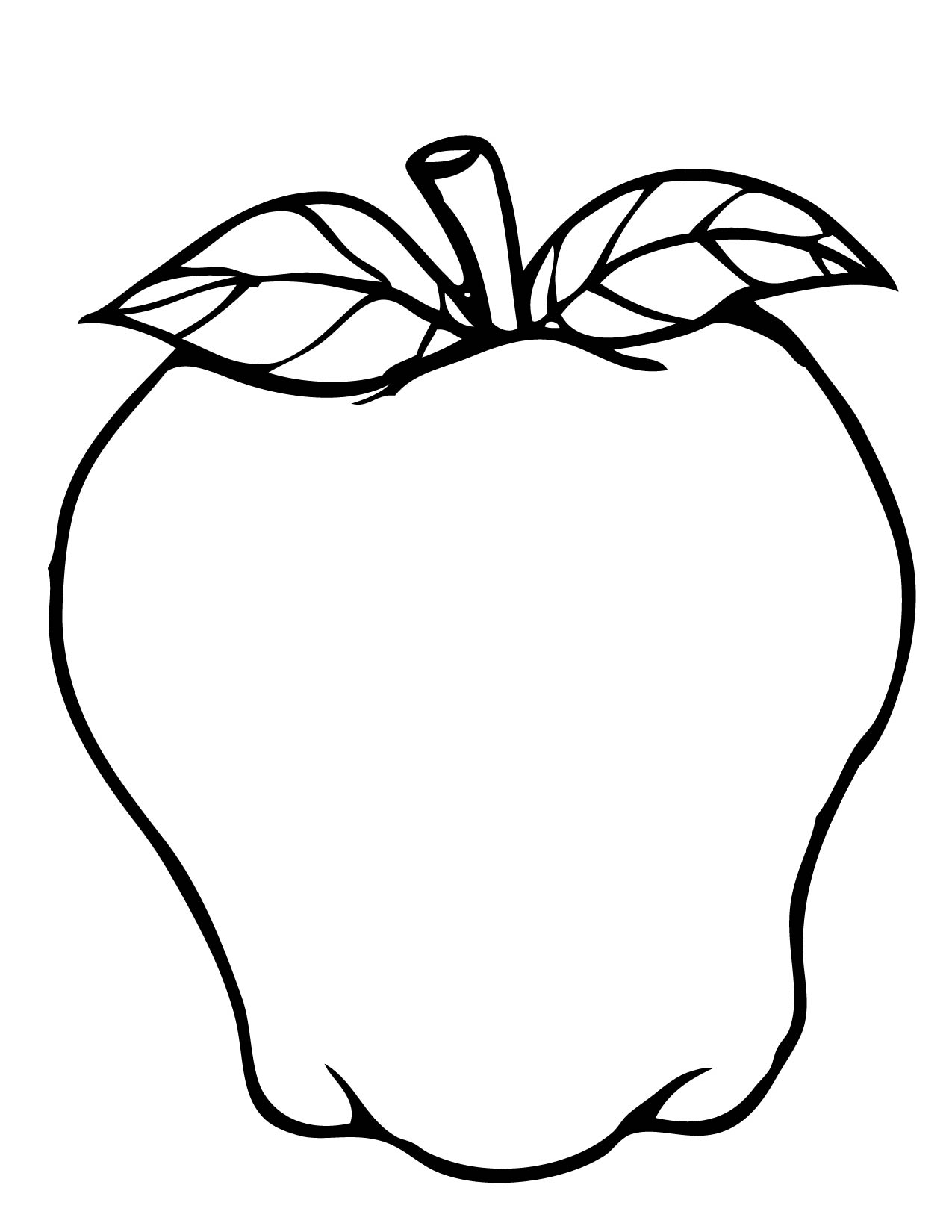 Free Printable Coloring Page Apple Picking