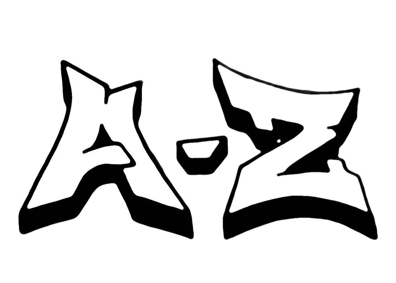 Graffiti Buchstaben Von A Z