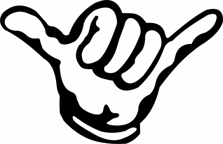 Hawaiian Hand Gesture
