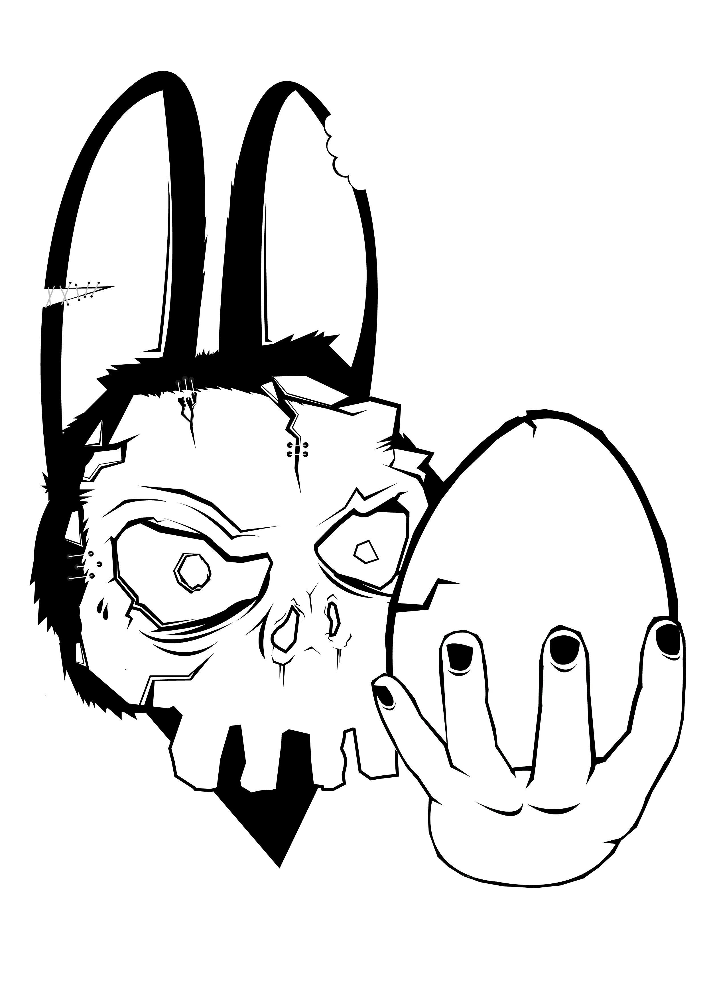 Easter Black Amp White Clipart Christian