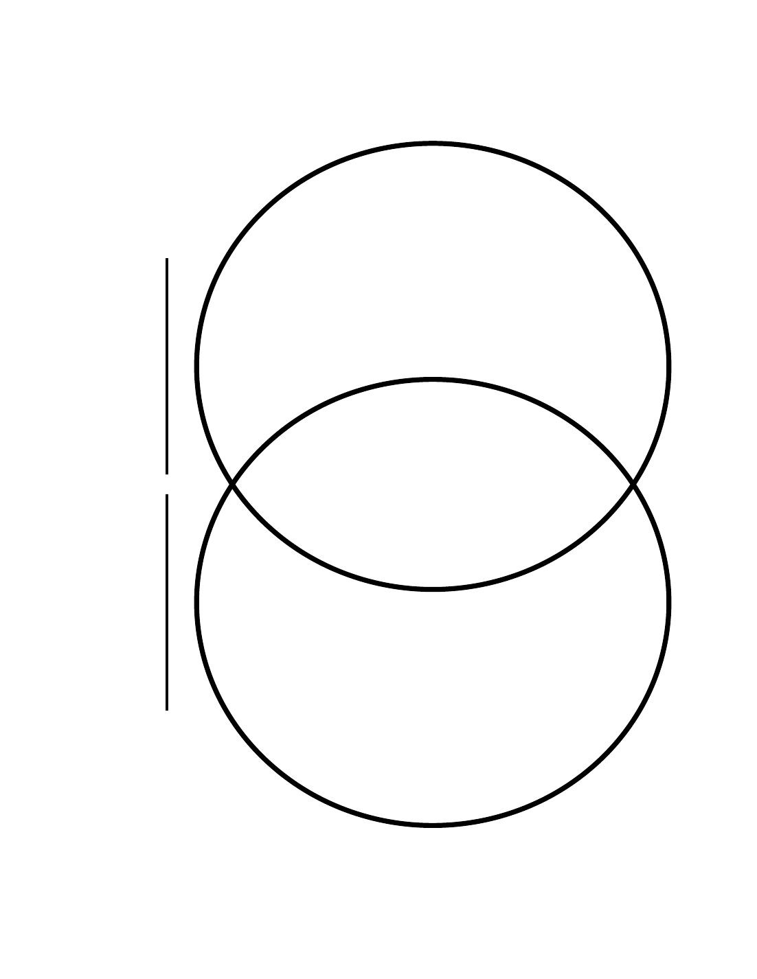 Venn Diagram Template Printable