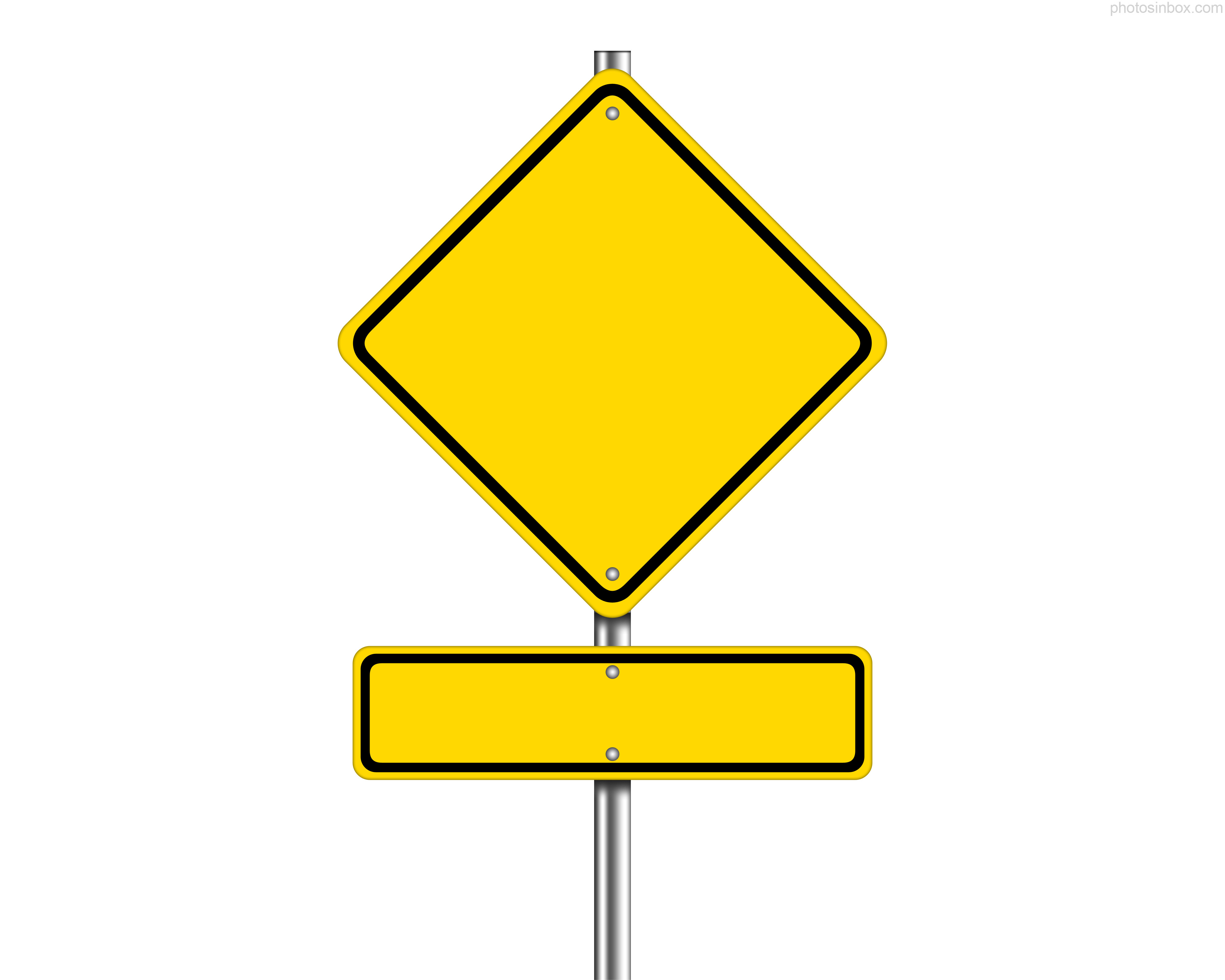 Road Sign Templates
