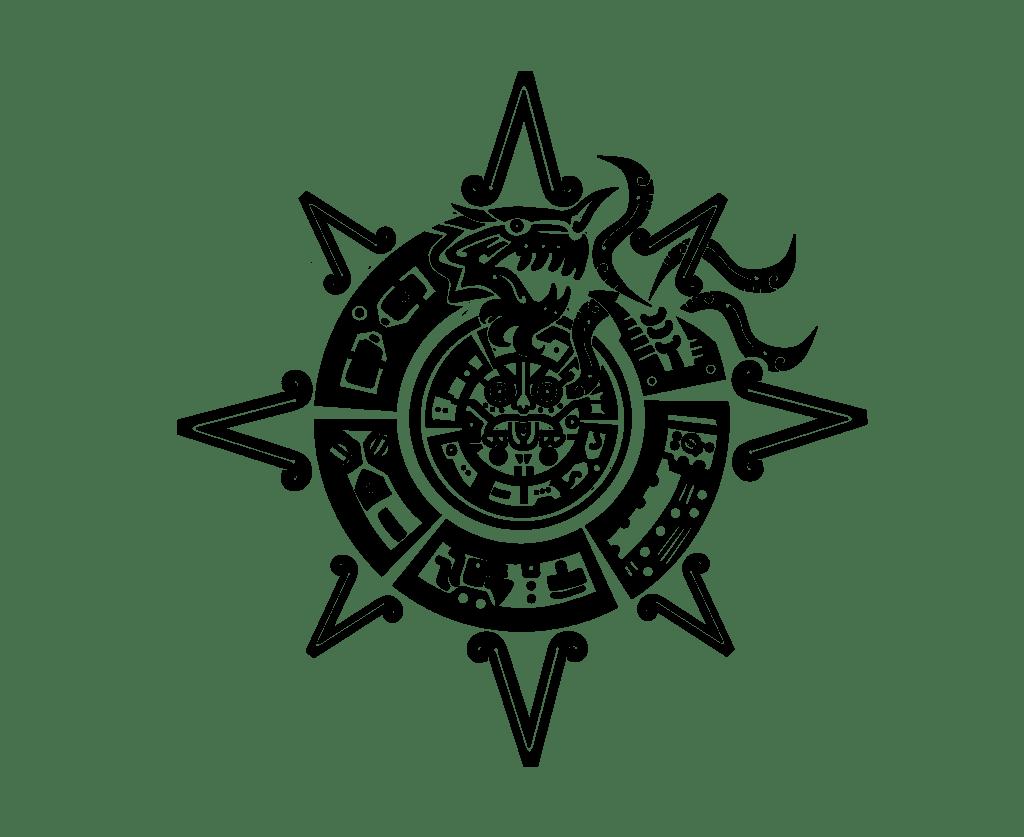 Aztec Tattoos Mayan Maya Indian Native