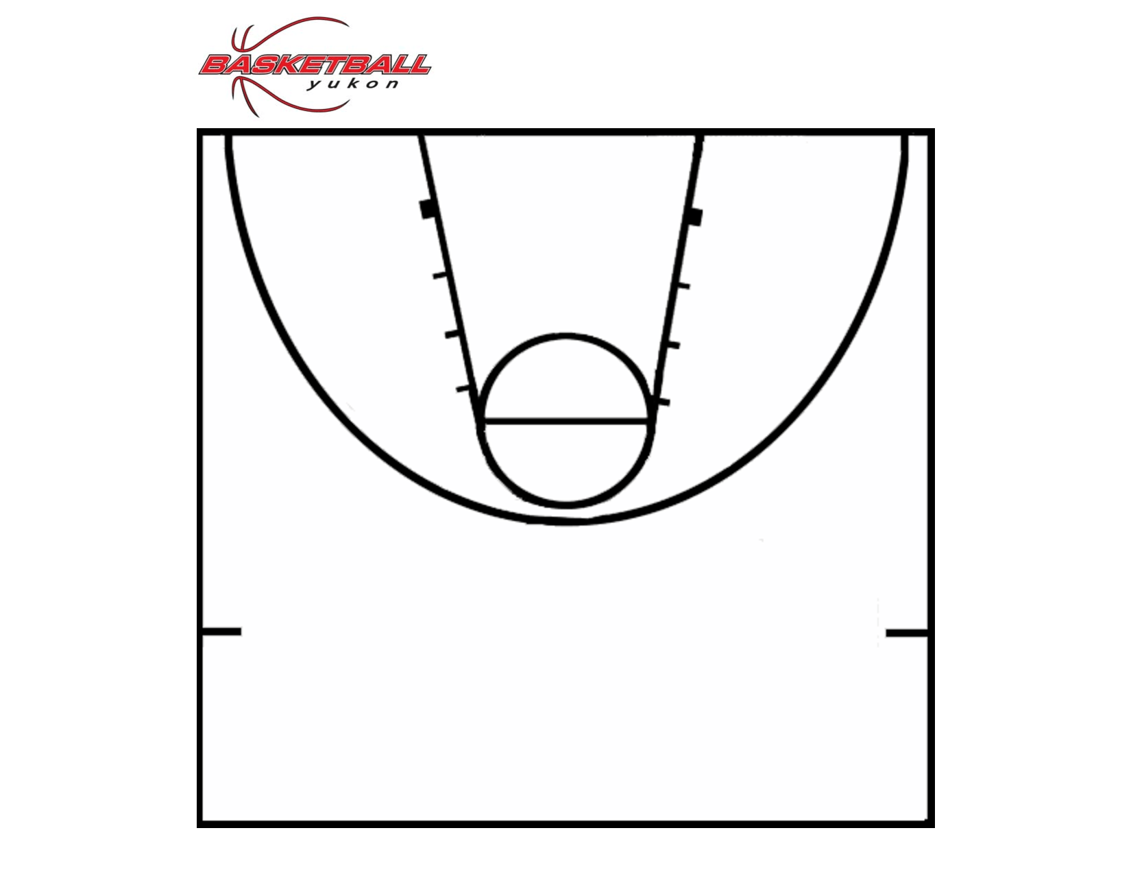 Basketball Court Diagram Printable Diagrams
