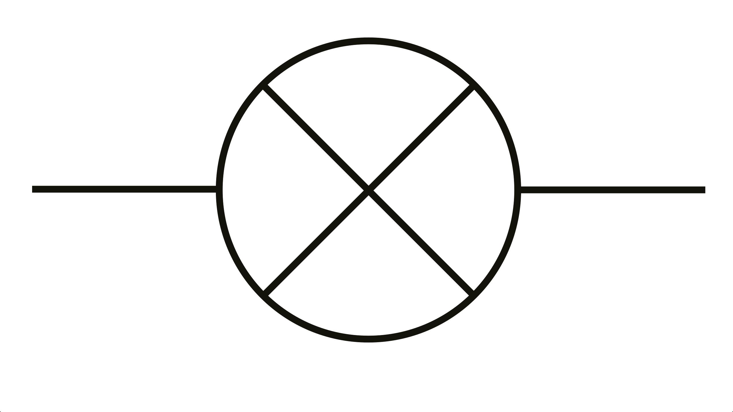 Led Symbol In Circuit