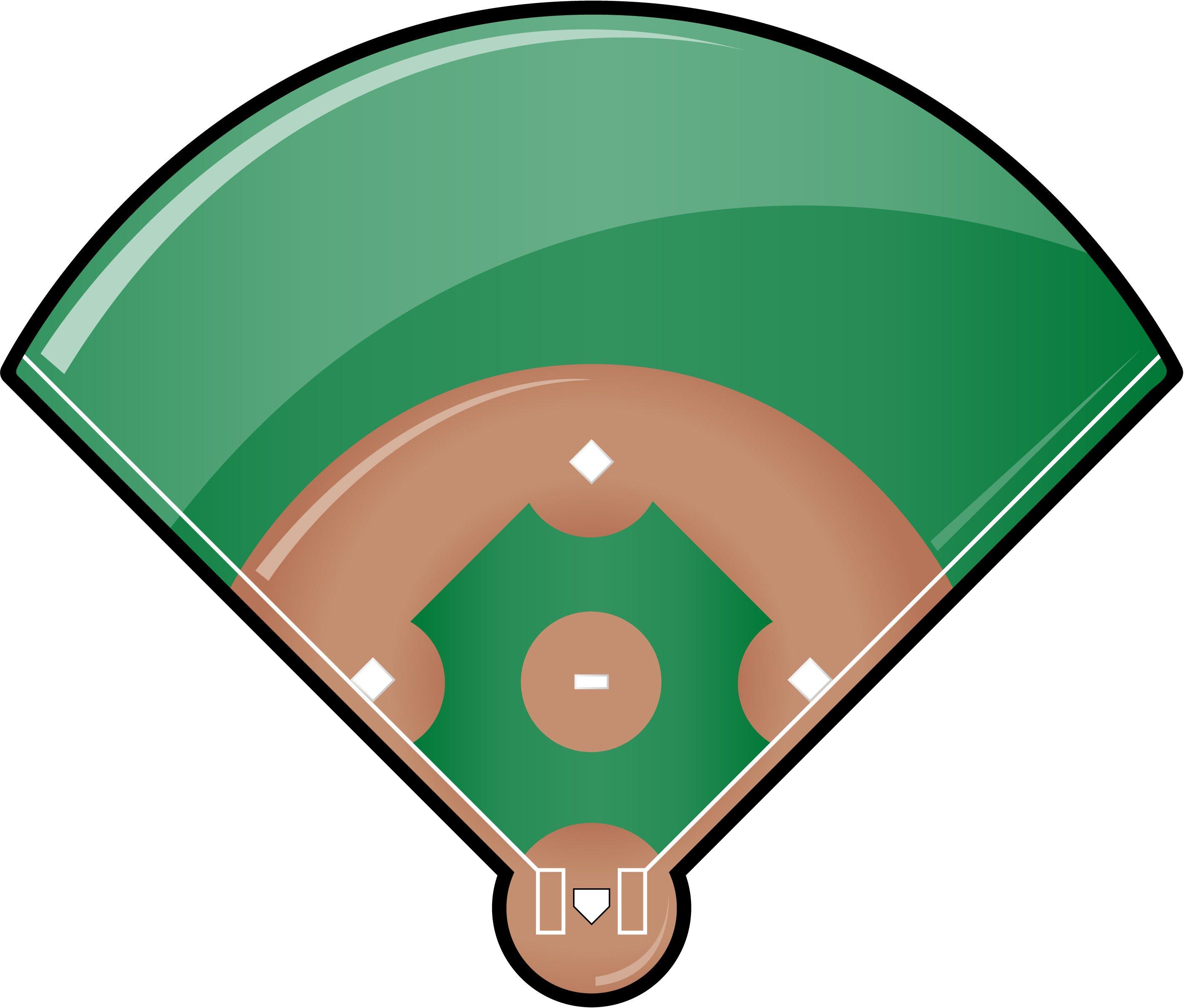 Baseball Diamond Printable