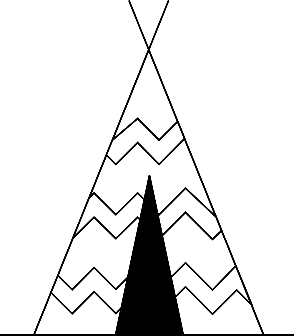 Feather Mountain Drawing