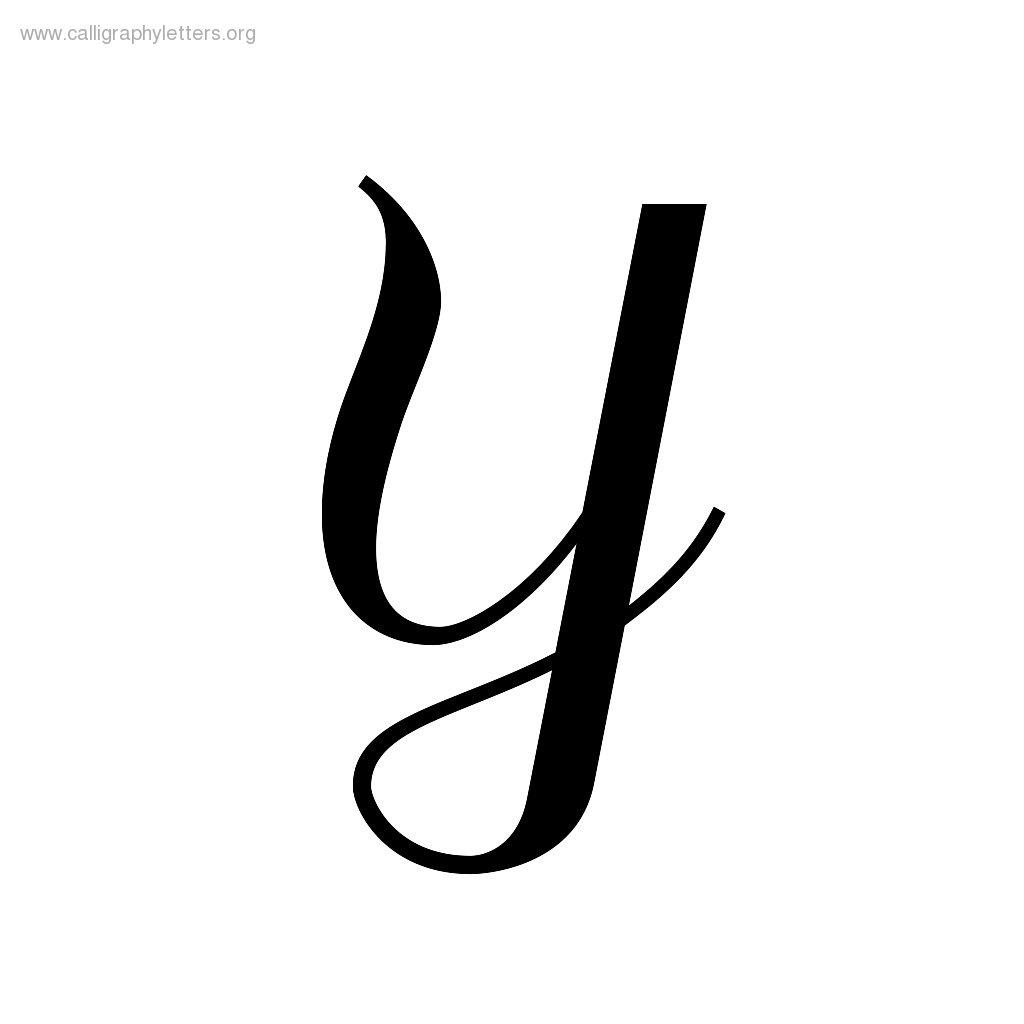Fancy Letter Y