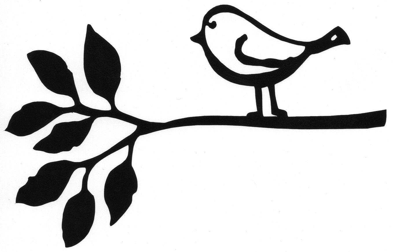 Best Photos Of Bird Outline Clip Art