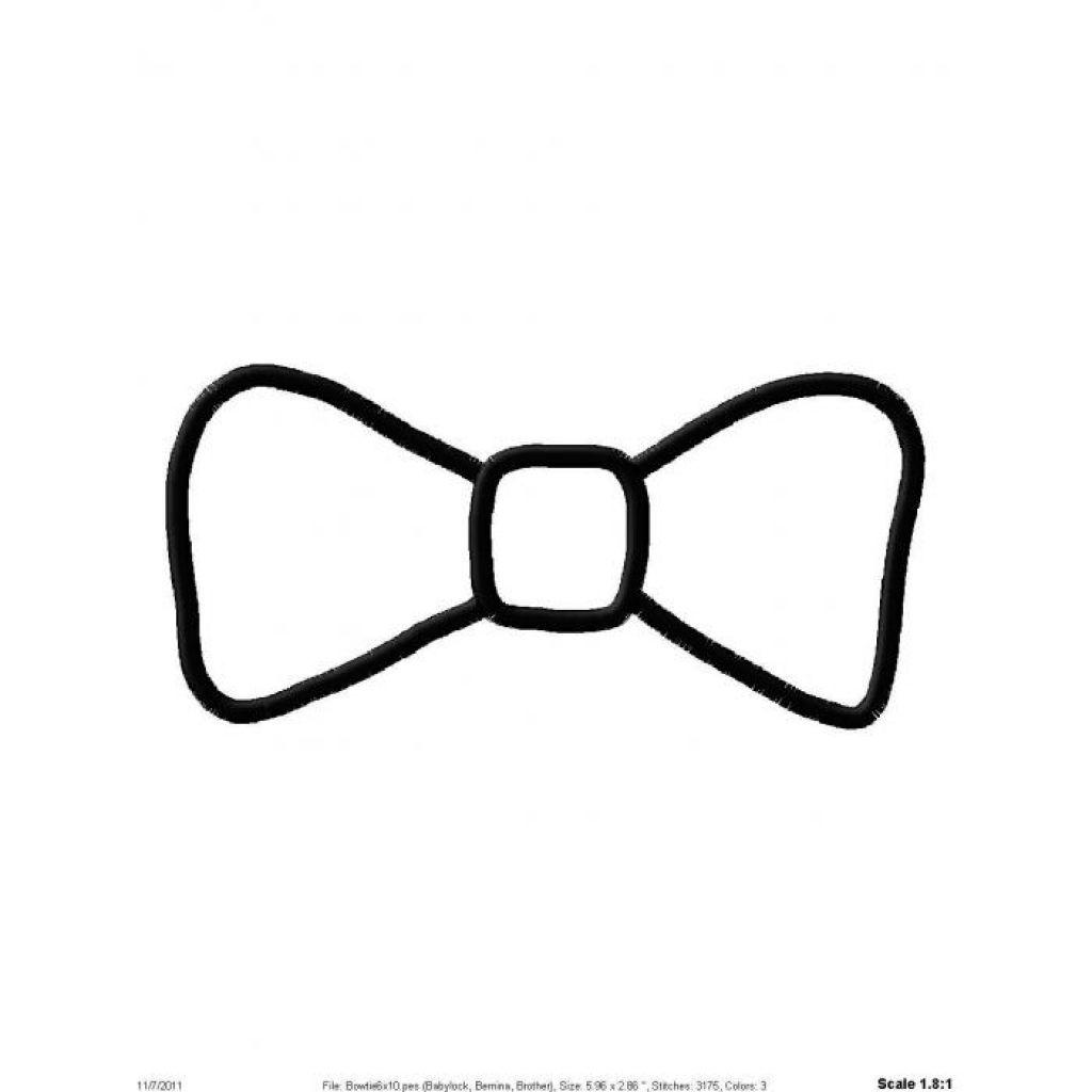 Black Bow Tie Clipart