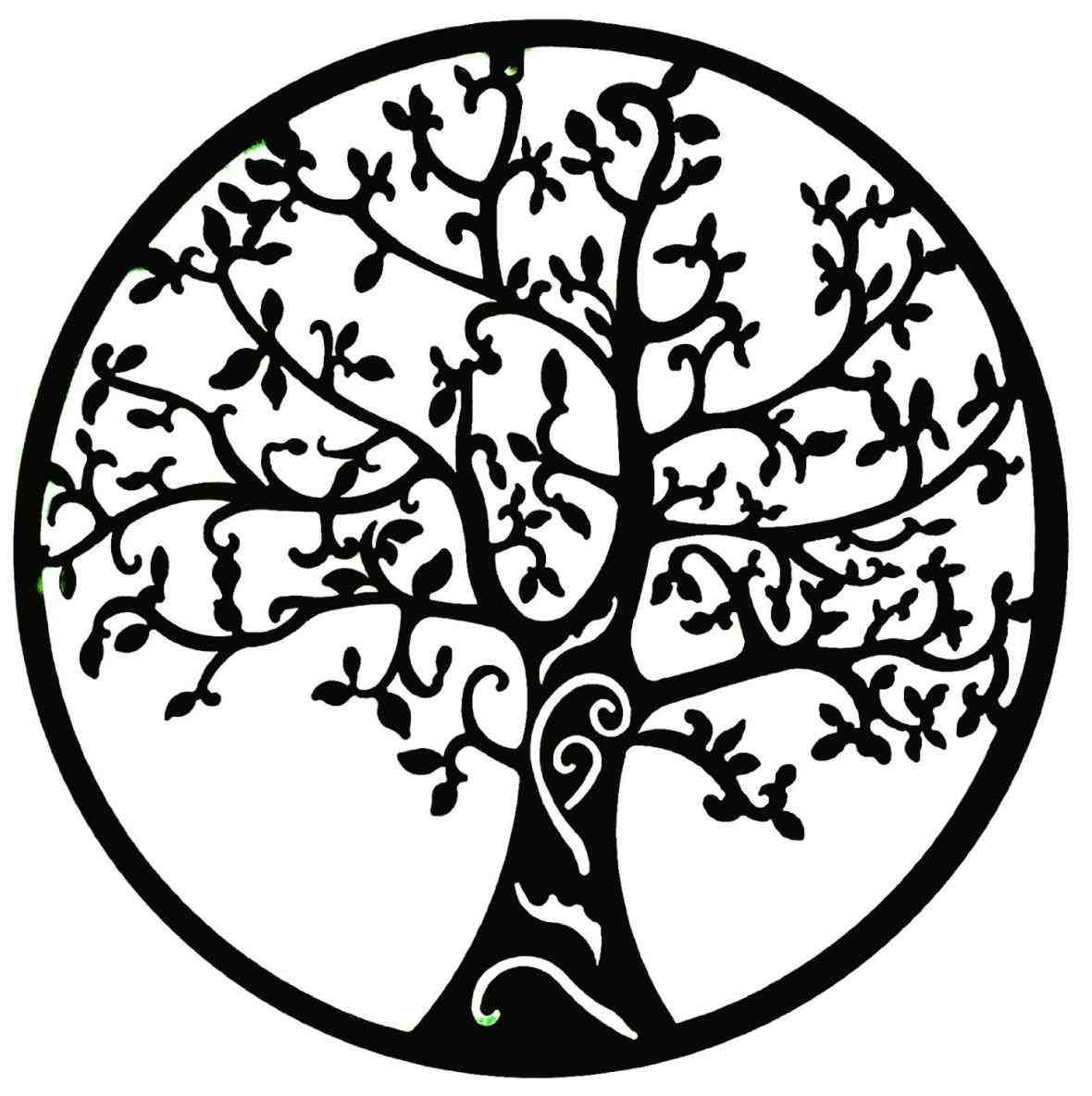 Simple Black And White Tree Of Life Drawings Ngorong