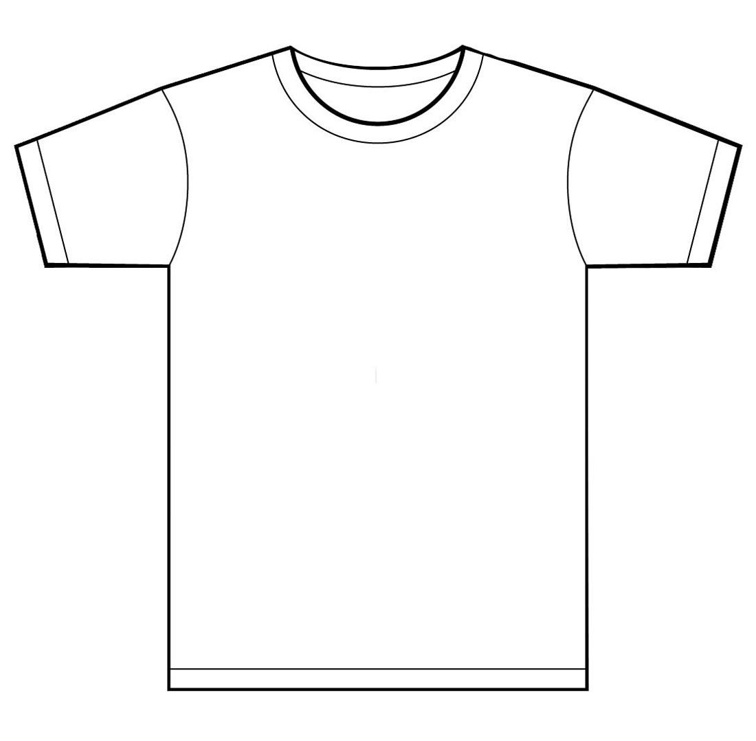 Shirt Design Template Illustrator