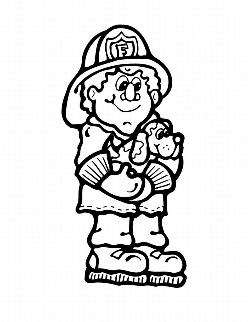 Coloring Pages Of Fire Clipart Best