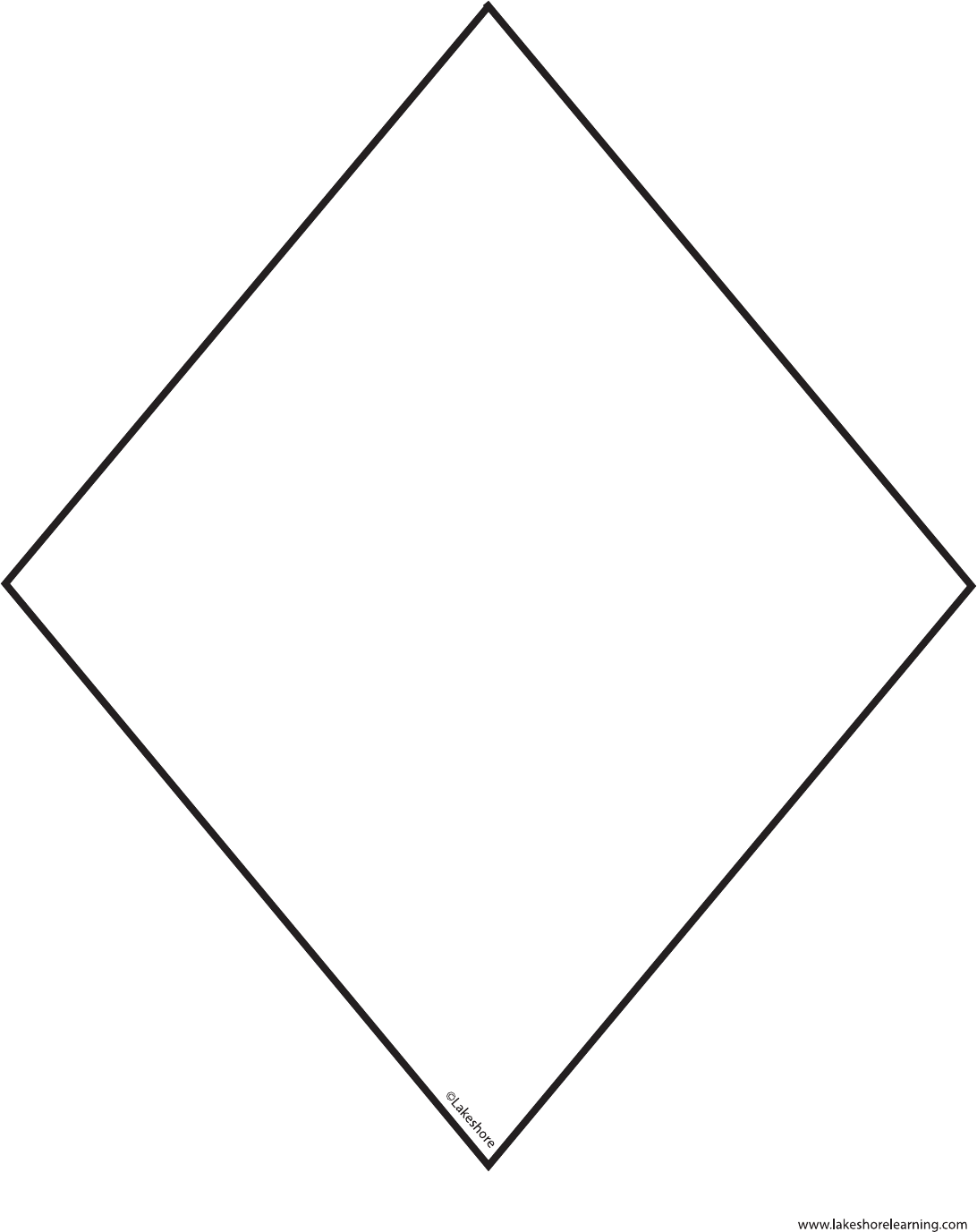 Kite Pattern Template