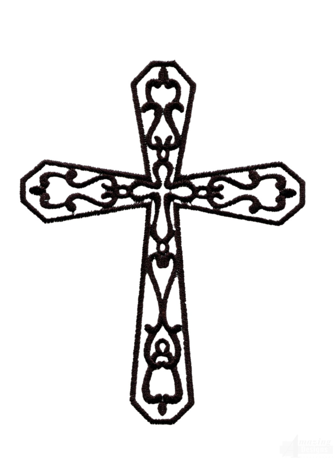 Easter Cross 4 Embroidery Design