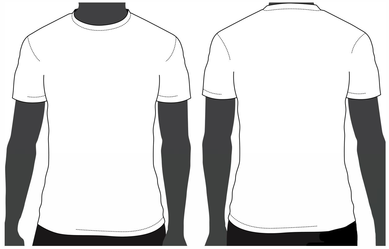 Template T Shirt Psd