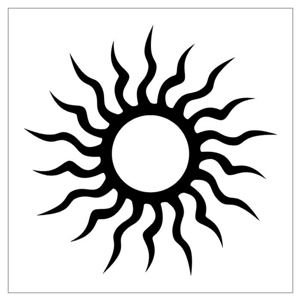 Cool Sun And Moon Designs