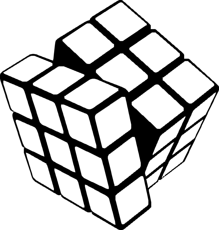 Rubik Free Vector