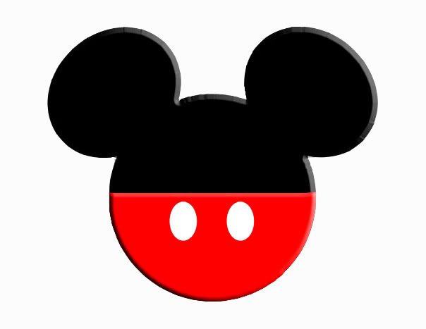 Mickey Mouse Vector Clip Ears Art