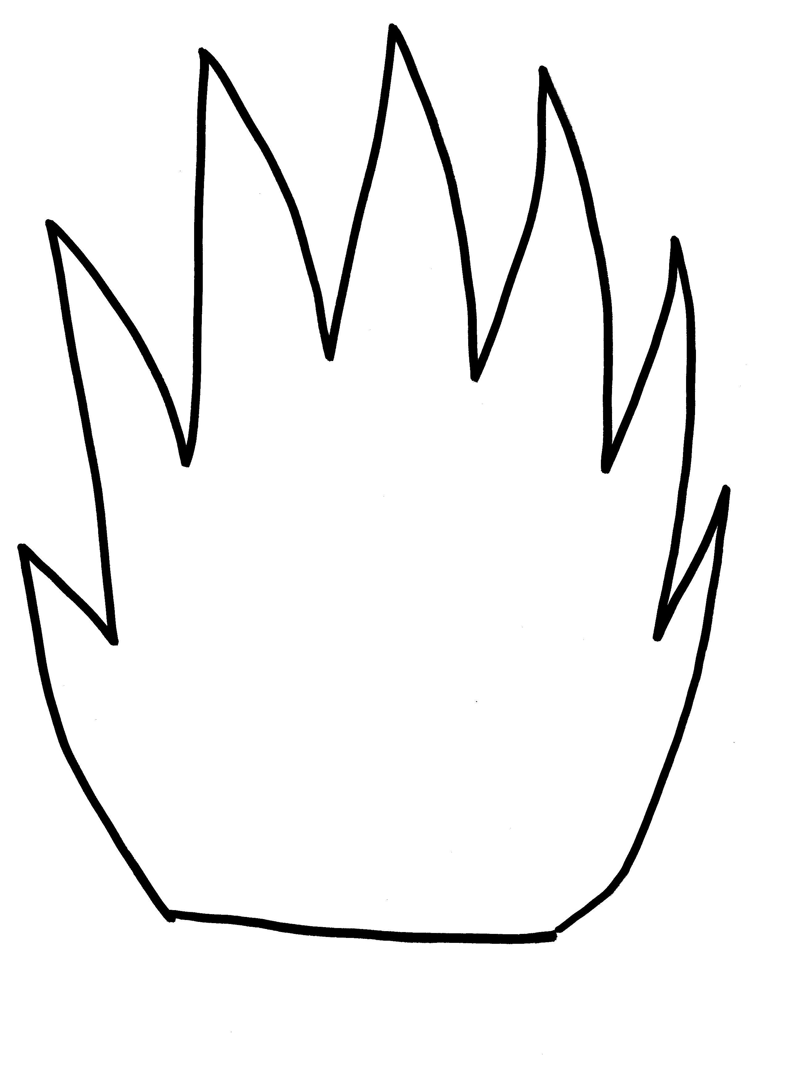 Child Handprint Template
