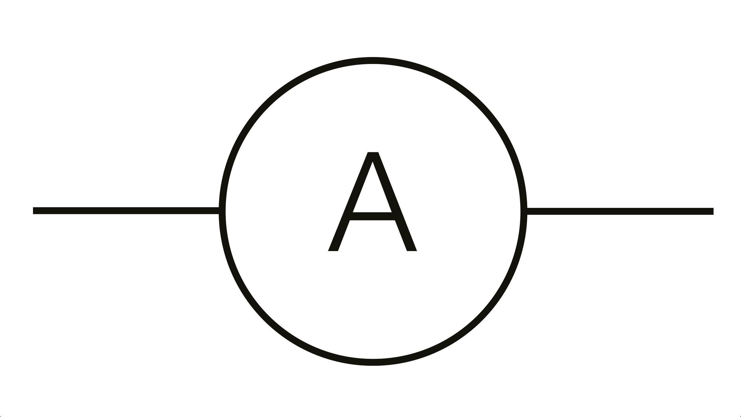 Voltmeter Symbol Circuit