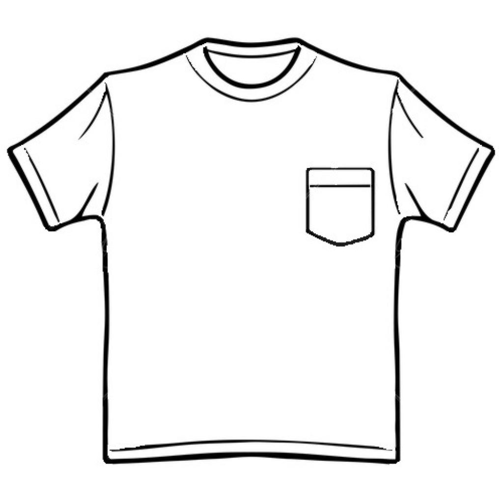Tshirt Back Clipart