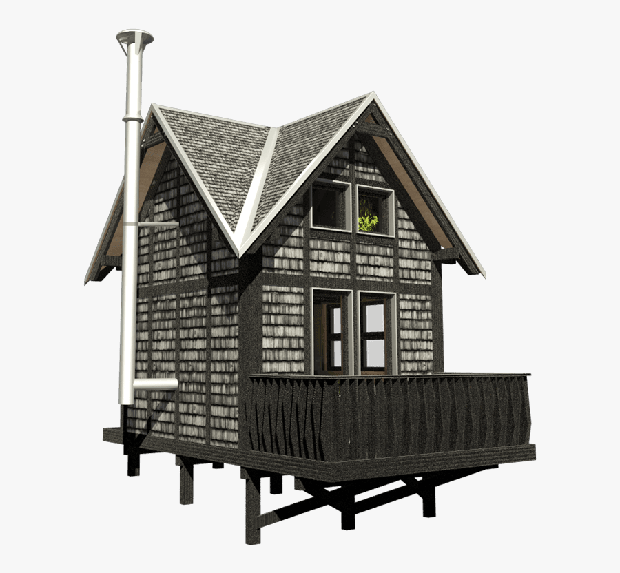 Small Cottage Plans With Loft And Porch House Free Transparent Clipart Clipartkey