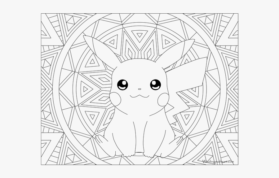 Hard Pokemon Coloring Pages Adult Pokemon Coloring Pokemon Coloring Pages Free Transparent Clipart Clipartkey