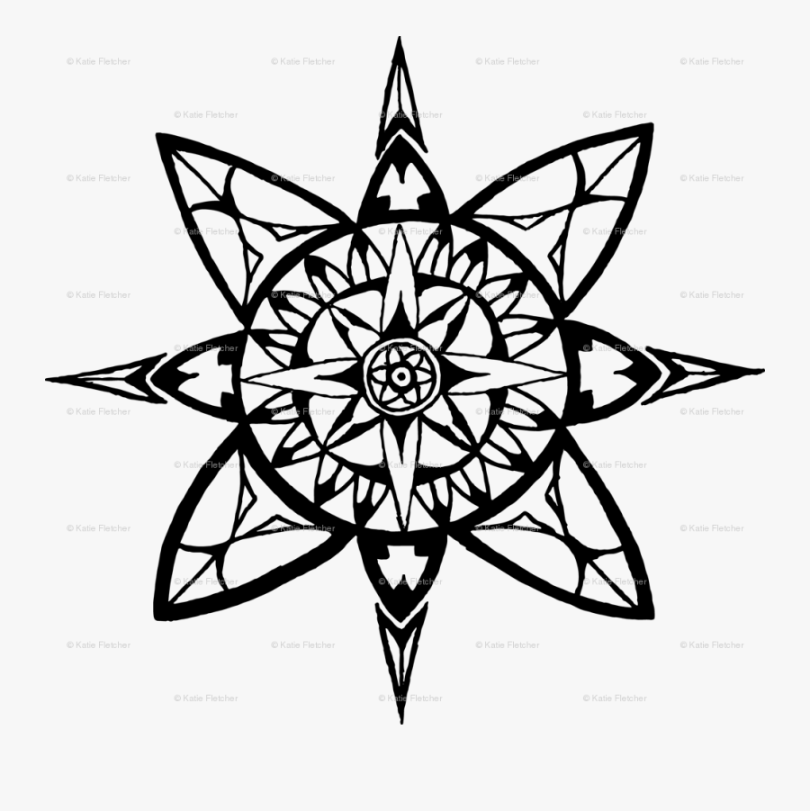 Compass Rose Coloring Pages For Adults Free Transparent Clipart Clipartkey