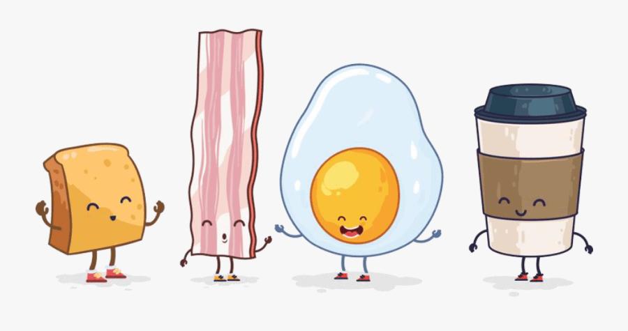Transparent Eating Breakfast Clipart Breakfast Cartoon Transparent Free Transparent Clipart Clipartkey