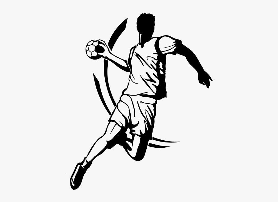 handball sport wall decal handball