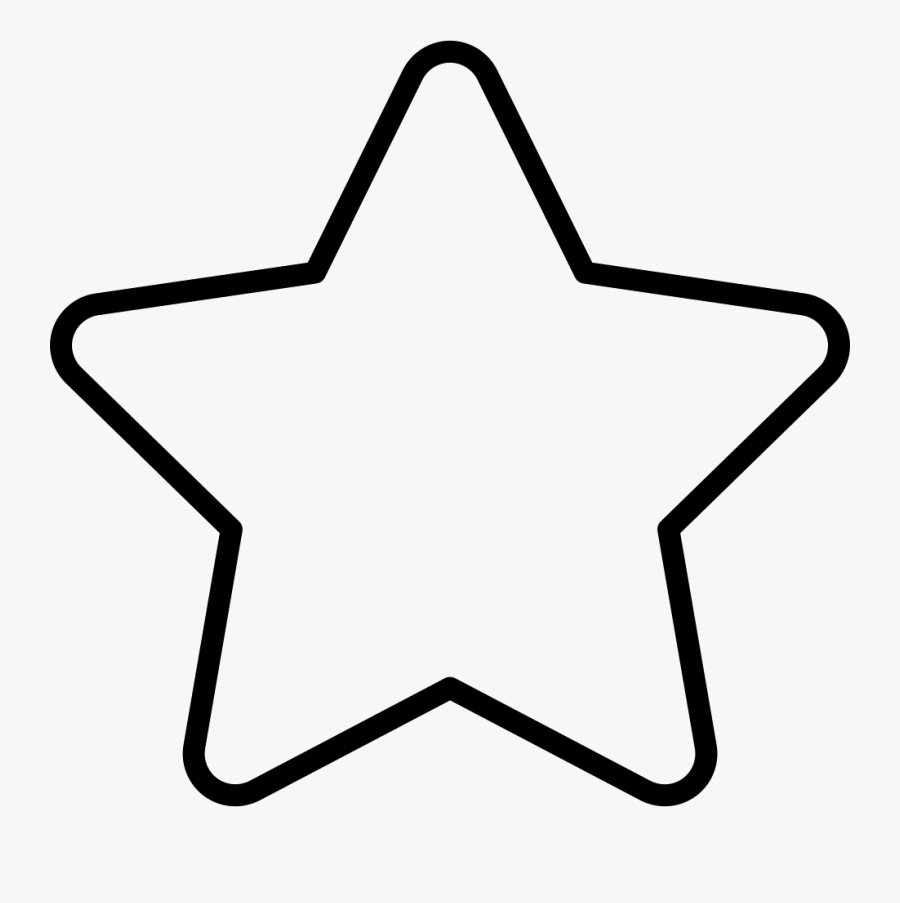 Star Outline Easy Star Coloring Pages Free Transparent Clipart Clipartkey