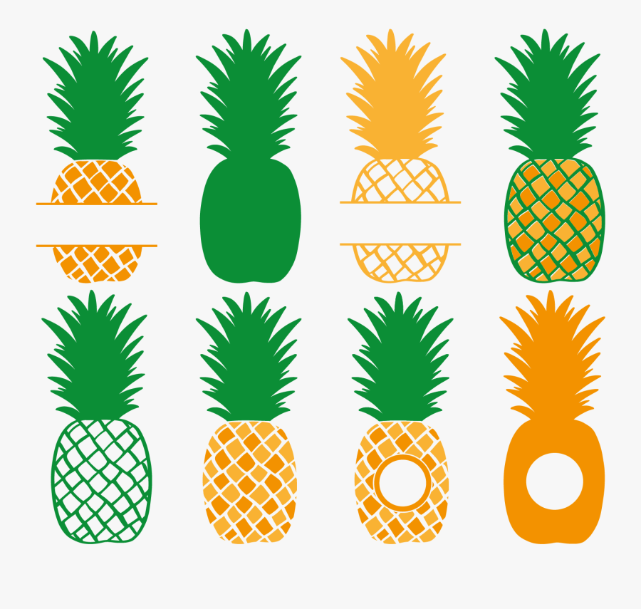 Download Transparent Pineapple Silhouette Png - Cricut Pineapple ...