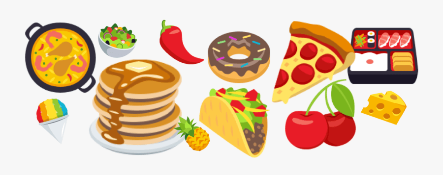 Transparent Food Clip Art Food Emoji Png Free Transparent Clipart Clipartkey