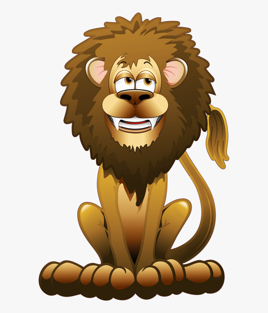Hungry Lion Cartoon Free Transparent Clipart Clipartkey