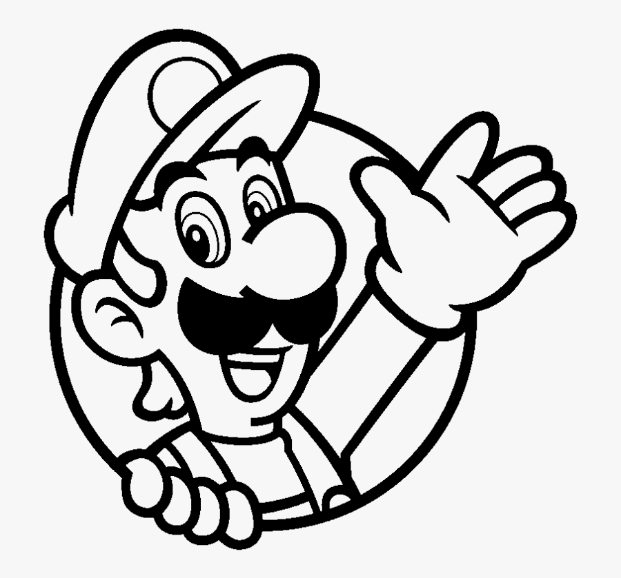 Beach Towel Coloring Page Mario 3d World Luigi Icon Free Transparent Clipart Clipartkey