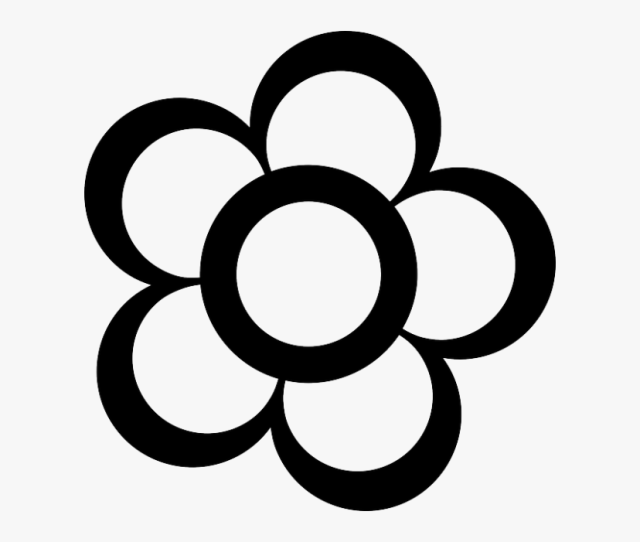 Flash Clipart Gambar Gambar Bunga Kartun Hitam Putih Free
