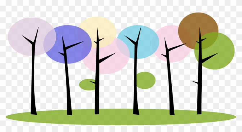 Big forest plants clipart collection on white background. Forest Trees Nature Plants Abstract Clip Art Free Transparent Png Clipart Images Download